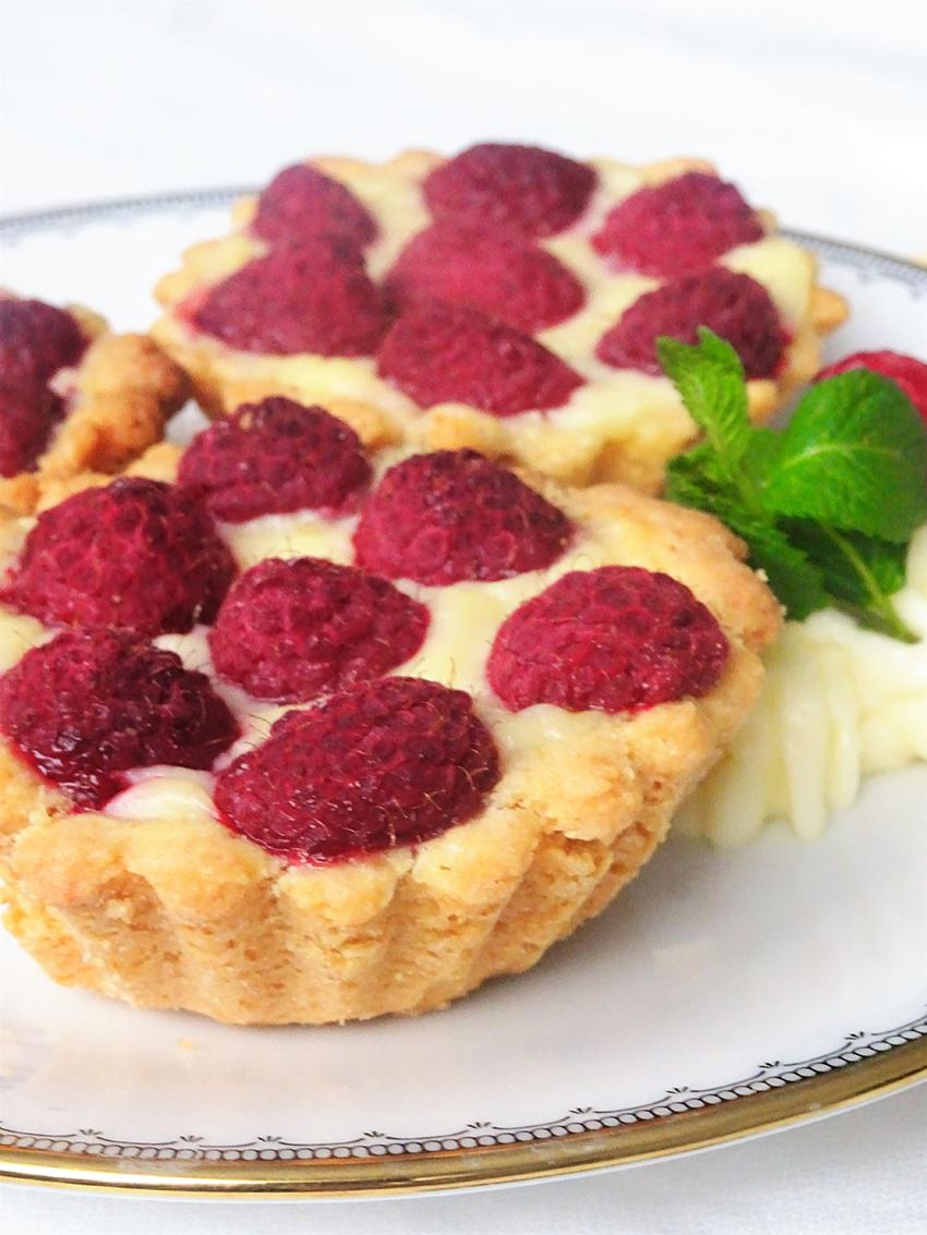 Mini pite s malinama