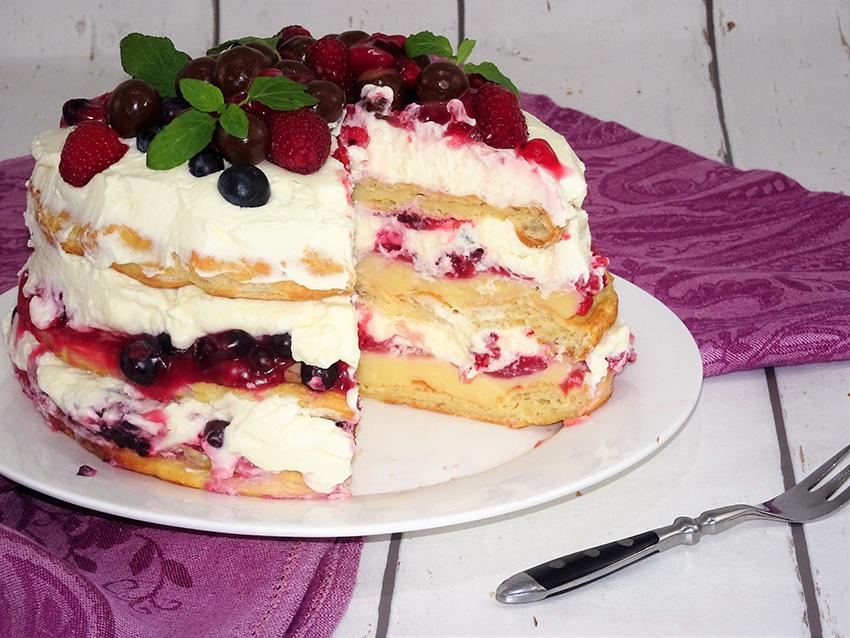 Princes krafna torta