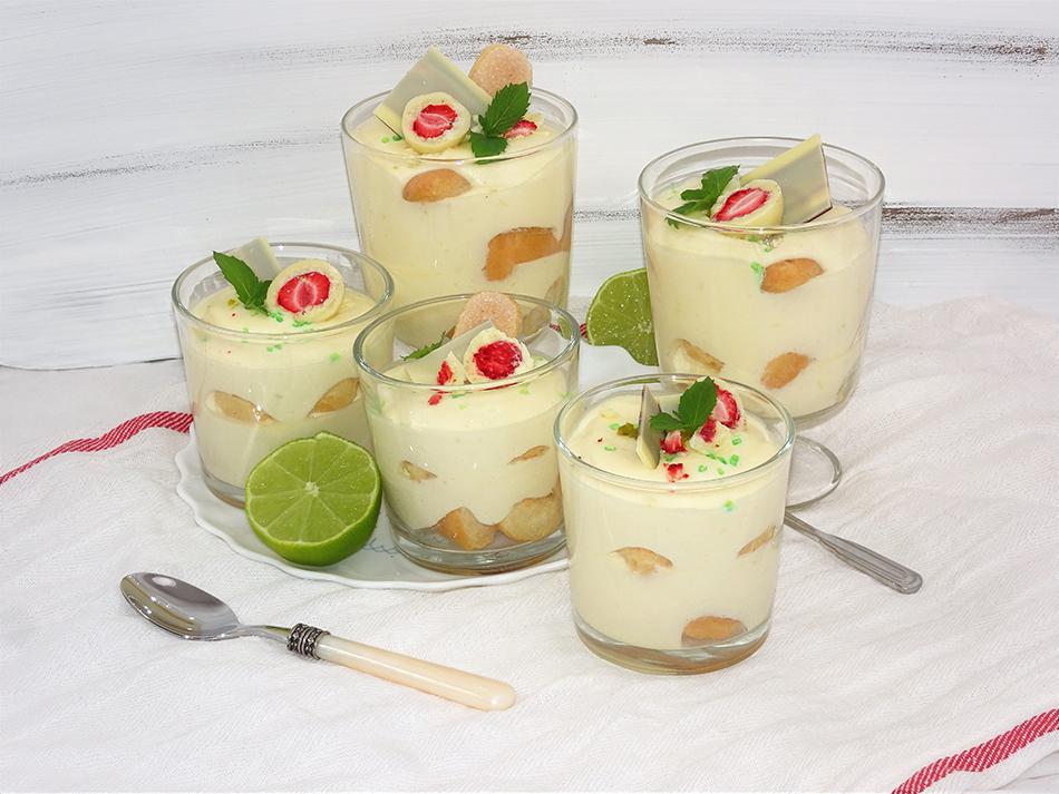 """Brzi i osvježavajući desert s limetom iz čašice (koji se ne peče)"""" je zaključana Brzi i osvježavajući desert s limetom iz čašice"""