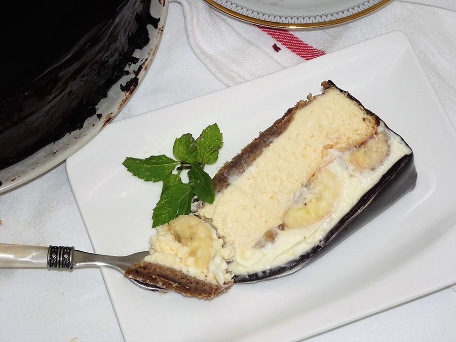 Cheesecake s bananama