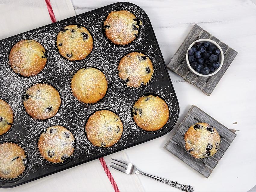 muffini s borovnicama
