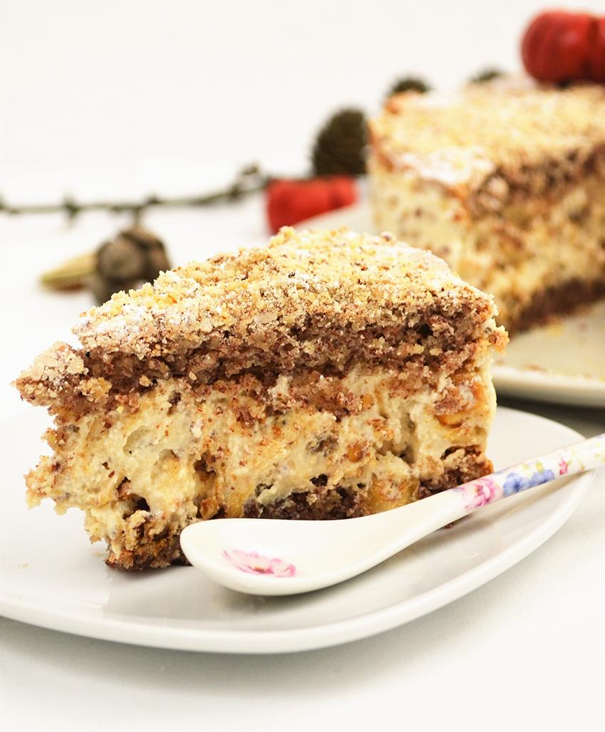 Bezglutenska torta s lješnjacima i bademima