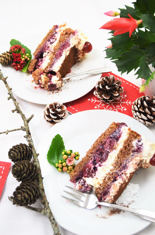 Božićno izdanje Schwarzwald torte