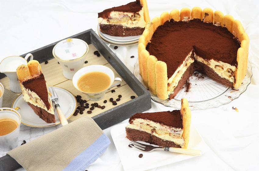 Tiramisu torta Charlotta